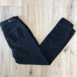 JORDACHE Black Super Skinny Jeans